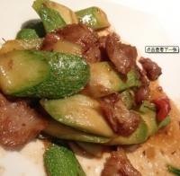 葫芦瓜猪颈肉.
